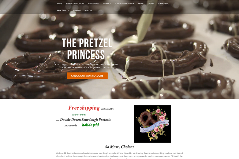 Prezel Princess Screen