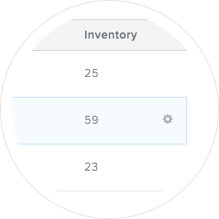 Track Your Inventory Popout