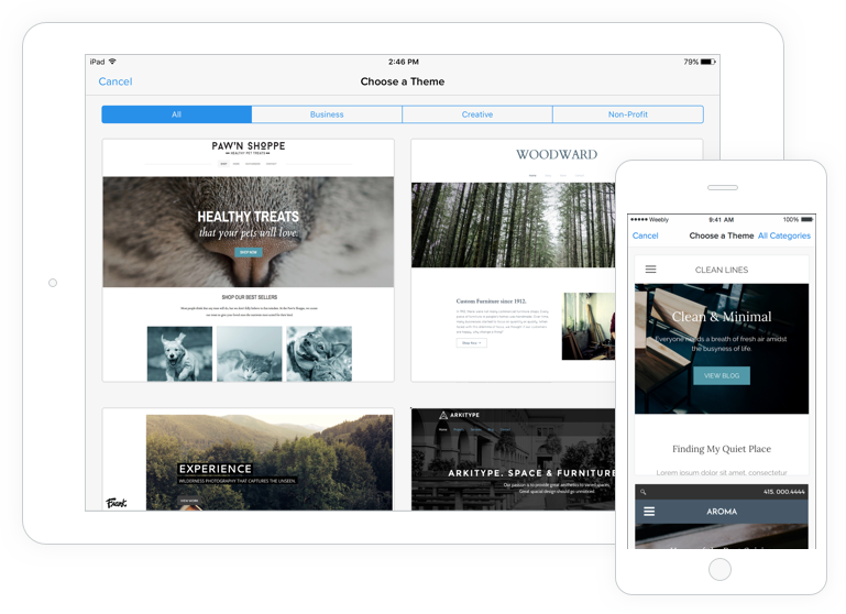 Mobile Website Builder - Create Stunning Mobile Sites with Weebly
