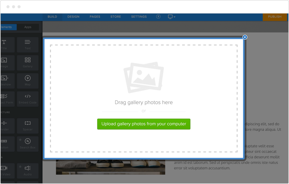 Weebly Slideshow Maker and Online Photo Gallery