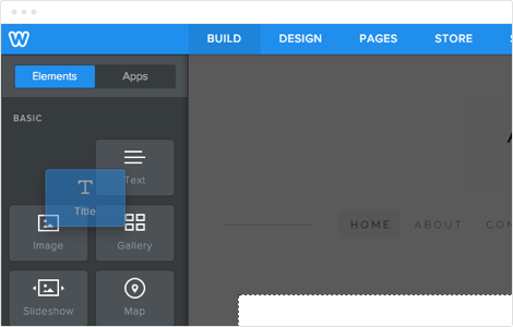 Building a website has never been easier for Weebly drag and drop templates