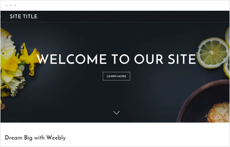 Site Templates | Free Website Templates Build A Beautiful Site Blog Or Store